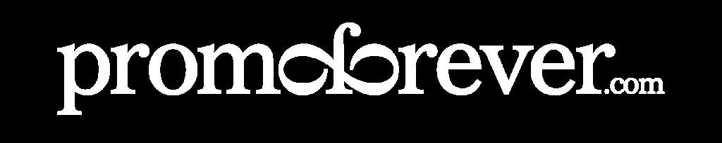 Promoforever logo white