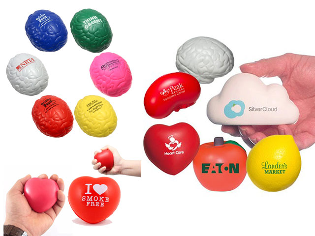 Promotional Special Shaped Stress Ball - MDK 1907