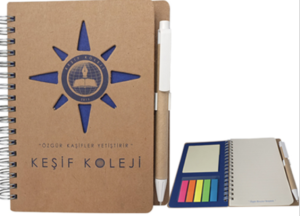 Customized Planner & Pen with Logo